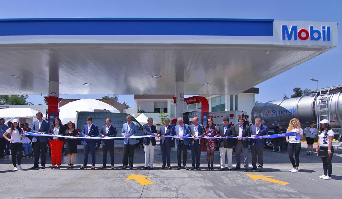 La inauguración de una de las estaciones