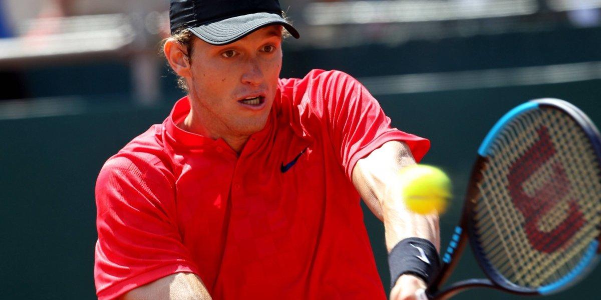 Nicolás Jarry y Christian Garín registraron un leve descenso en el ranking ATP