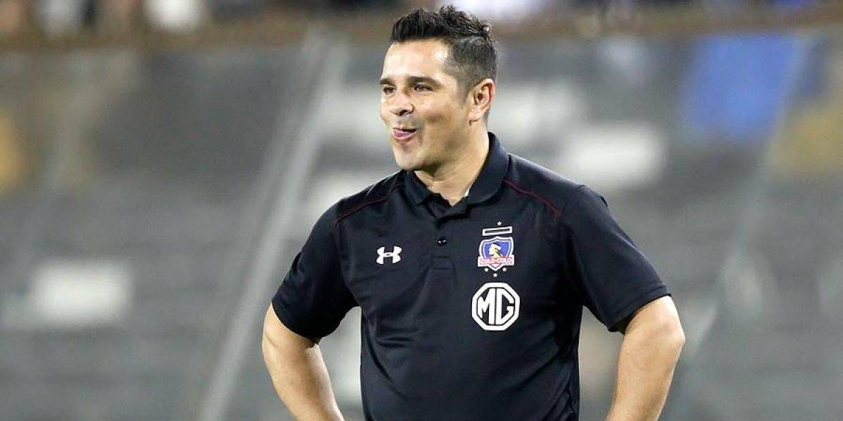 Tapia se lamenta en Colo Colo y confirma que no habrá un cupo más de refuerzo por la lesión de Meza