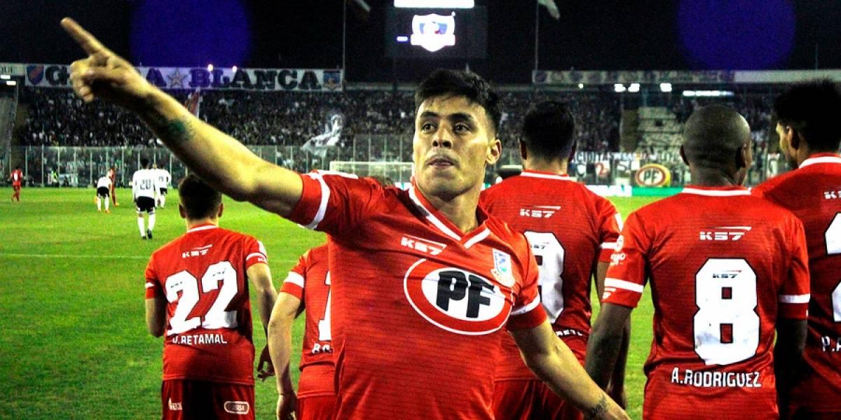 Unión La Calera venció a Colo Colo en el Monumental con un doblete de Brian Fernández en su despedida