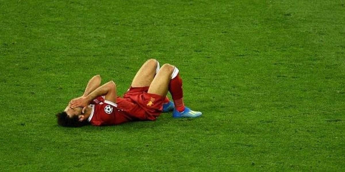 Médico del Liverpool confirmó el tiempo necesitará Mohamed Salah para recuperarse de la lesión