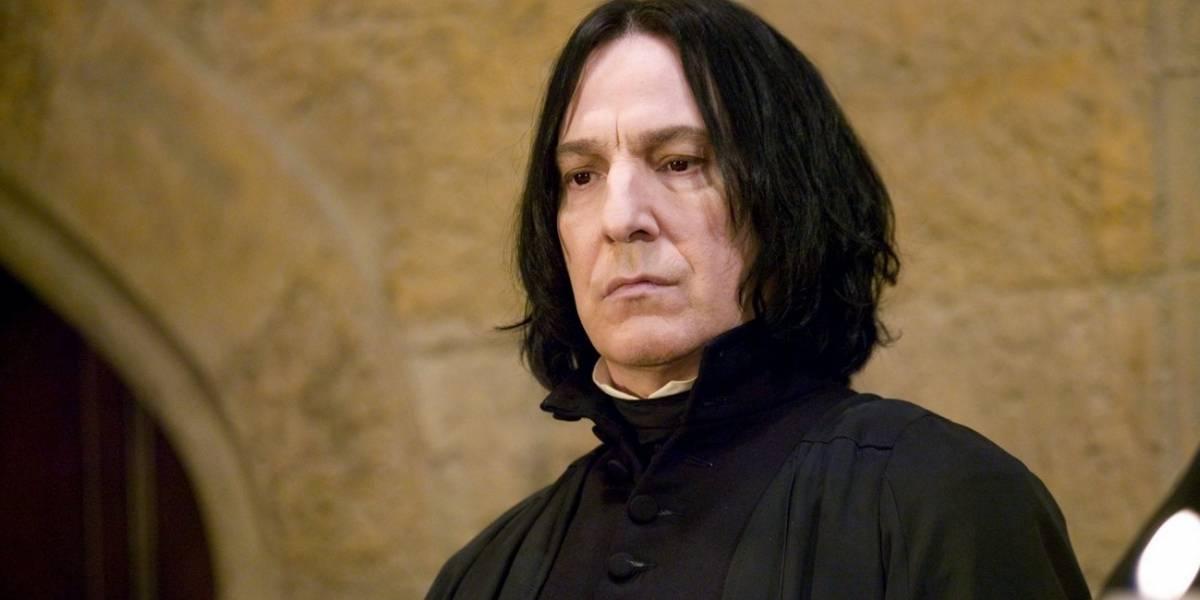 Ator que viveu Severo Snape se sentia frustrado com filmes de Harry Potter