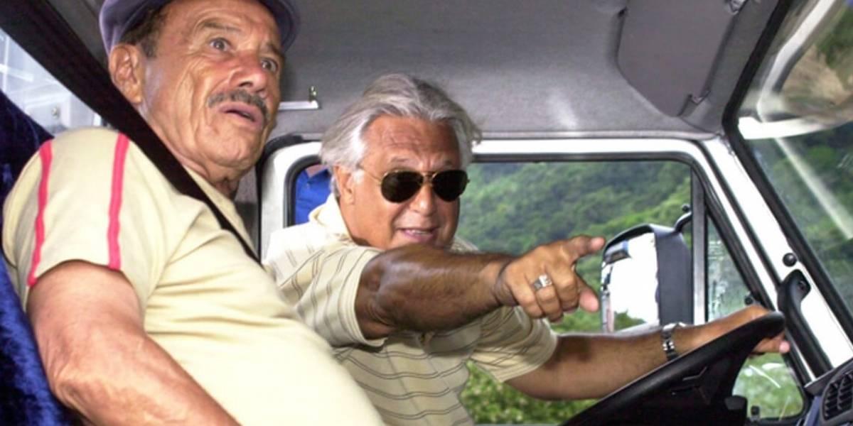 Há 14 anos, Pedro e Bino organizavam bloqueio em estrada na série Carga Pesada