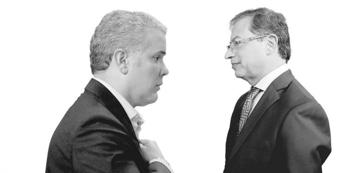 ¡Entre Duque y Petro saldrá presidente de Colombia!