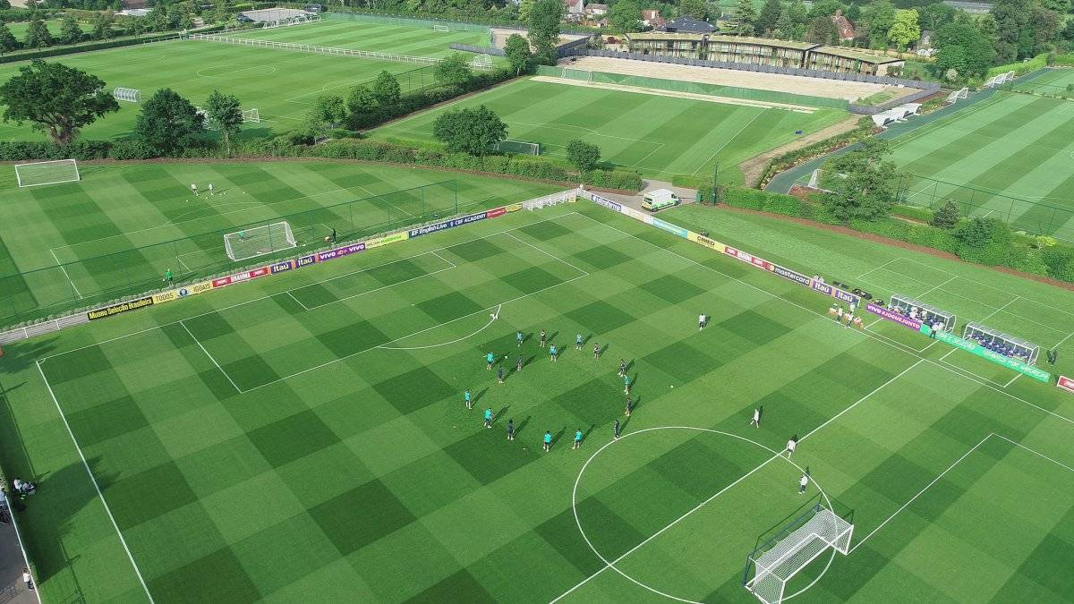 CT do Tottenham Lucas Figueiredo/CBF