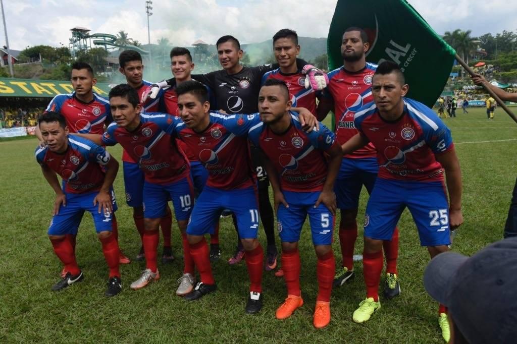 Este fue el equipo titular de Xelajú en la final de vuelta