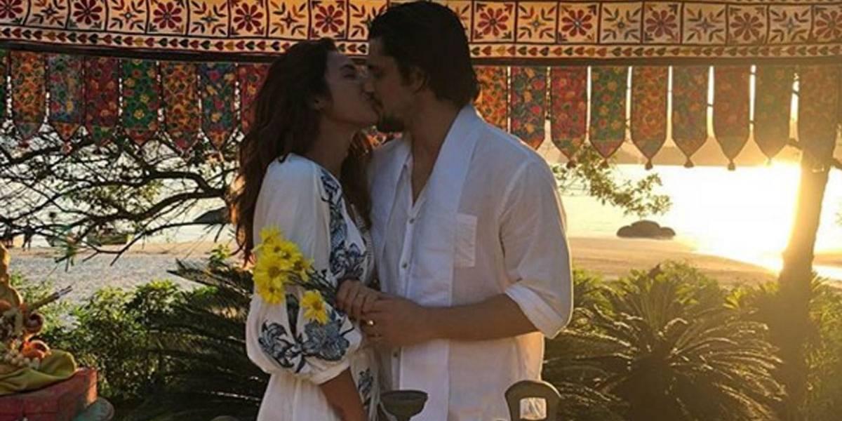 Bruno Gissoni responde seguidora que insinuou ligação de Yanna Lavigne e José Loreto