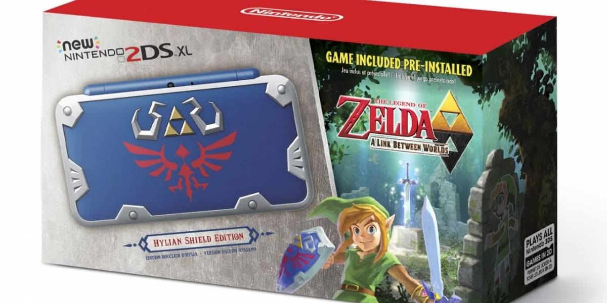 Nintendo presenta un espectacular New 2DS XL de The Legend of Zelda