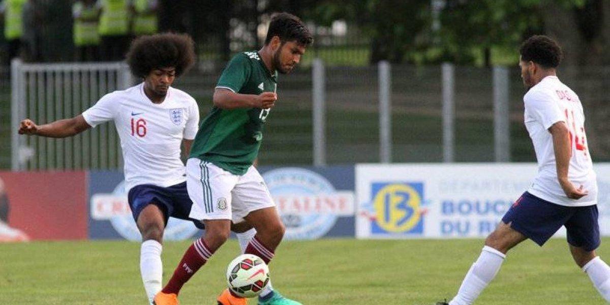 México divide unidades con Inglaterra en Toulon