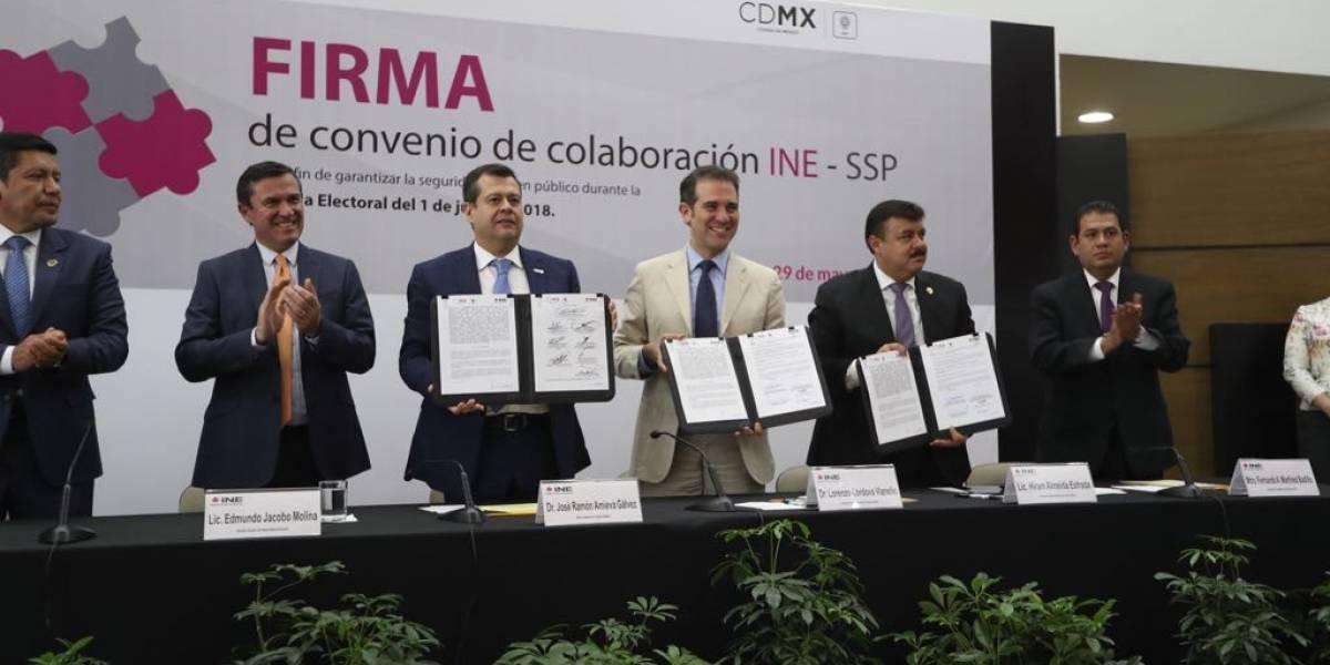 30 mil elementos de la SSP vigilarán urnas de la CDMX
