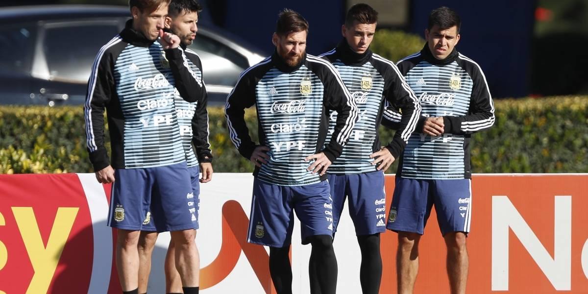Lionel Messi y compañía se despiden de su hinchada ante Haití