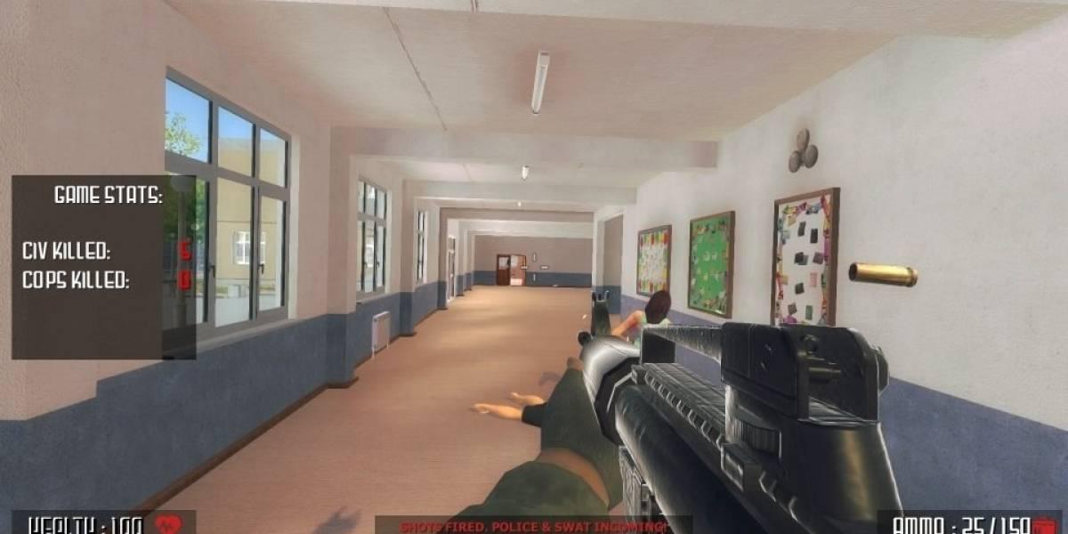 Ola de críticas en EE. UU. contra videojuego de tiroteo en escuela