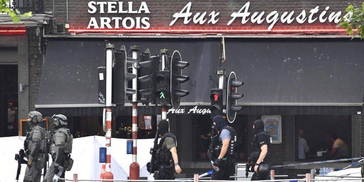Hombre mata a dos mujeres policías y un transeúnte en Bélgica
