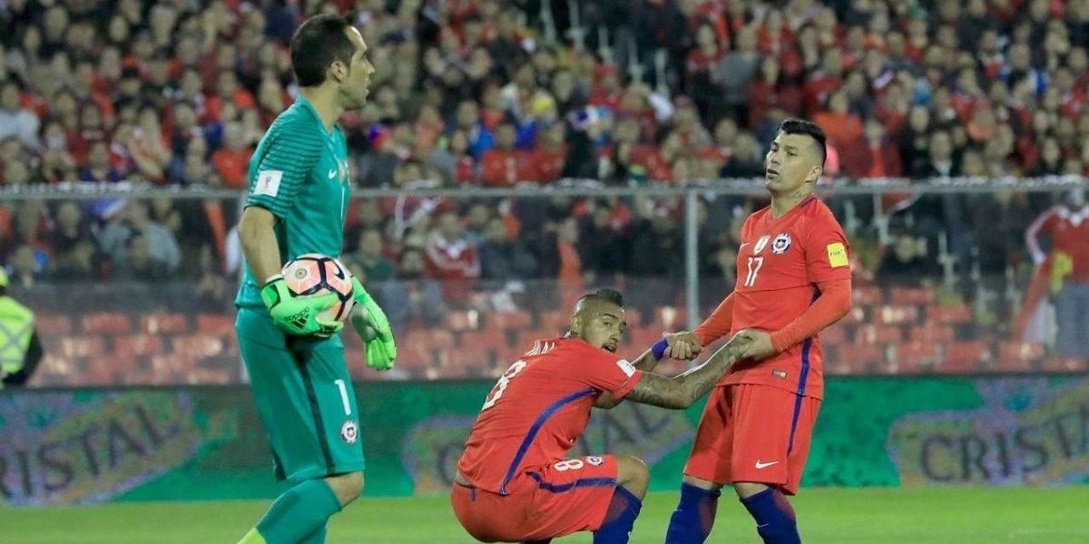 """Vidal sigue """"avivando"""" la polémica: """"¿Por qué le digo capitán a Gary Medel? Porque es el capitán"""""""
