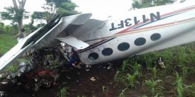 avioneta accidentada en Quetzaltenango