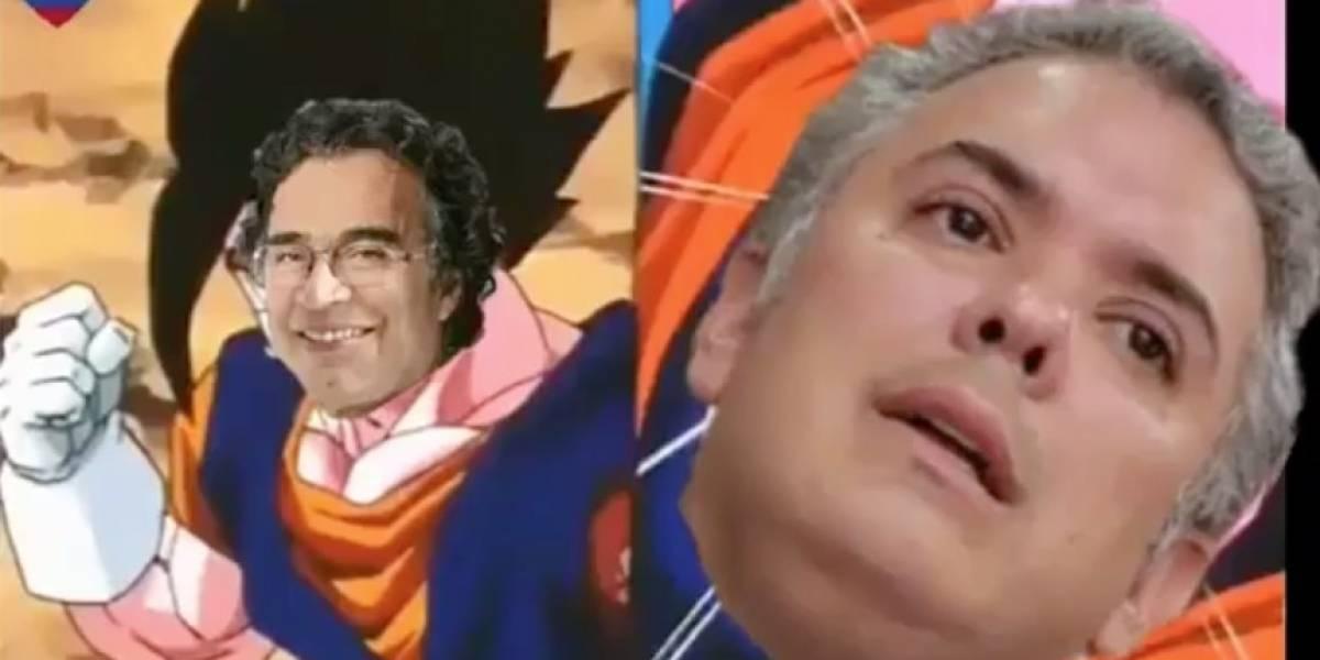 La parodia de Dragon Ball Z sobre una alianza entre Petro, Fajardo y De la Calle