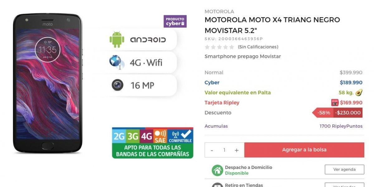Cambia 58 kilos de aguacate por un Moto X4