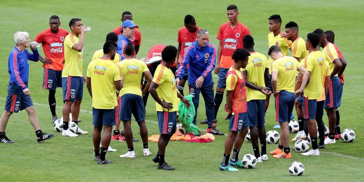 Cuatro jugadores de la Selección Colombia están en duda para el Mundial