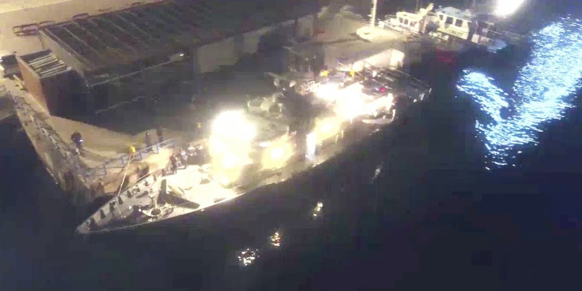 Como el submarino de Pablo Escobar pero versión chilena: ingresaron 600 kilos de droga pero barco casi se les hunde
