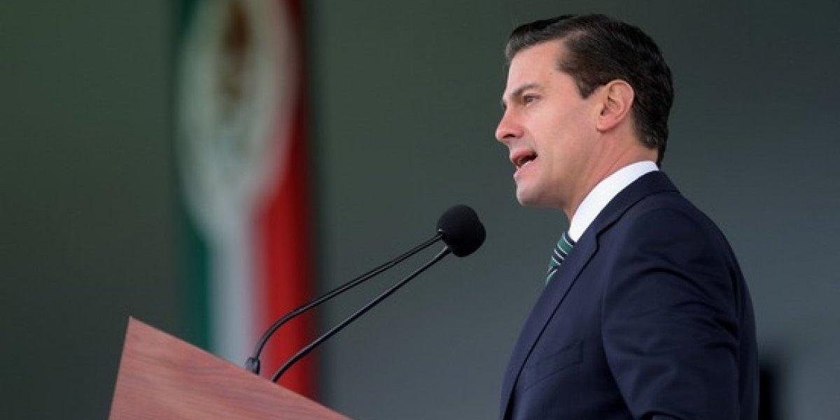 México nunca pagará por un muro, responde Peña Nieto a Trump