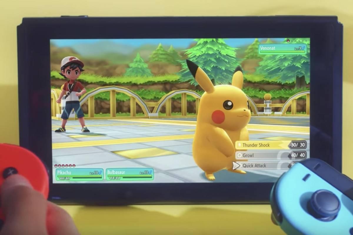 Nintendo Sorprende Con Nuevo Juego De Pokemon Para Switch