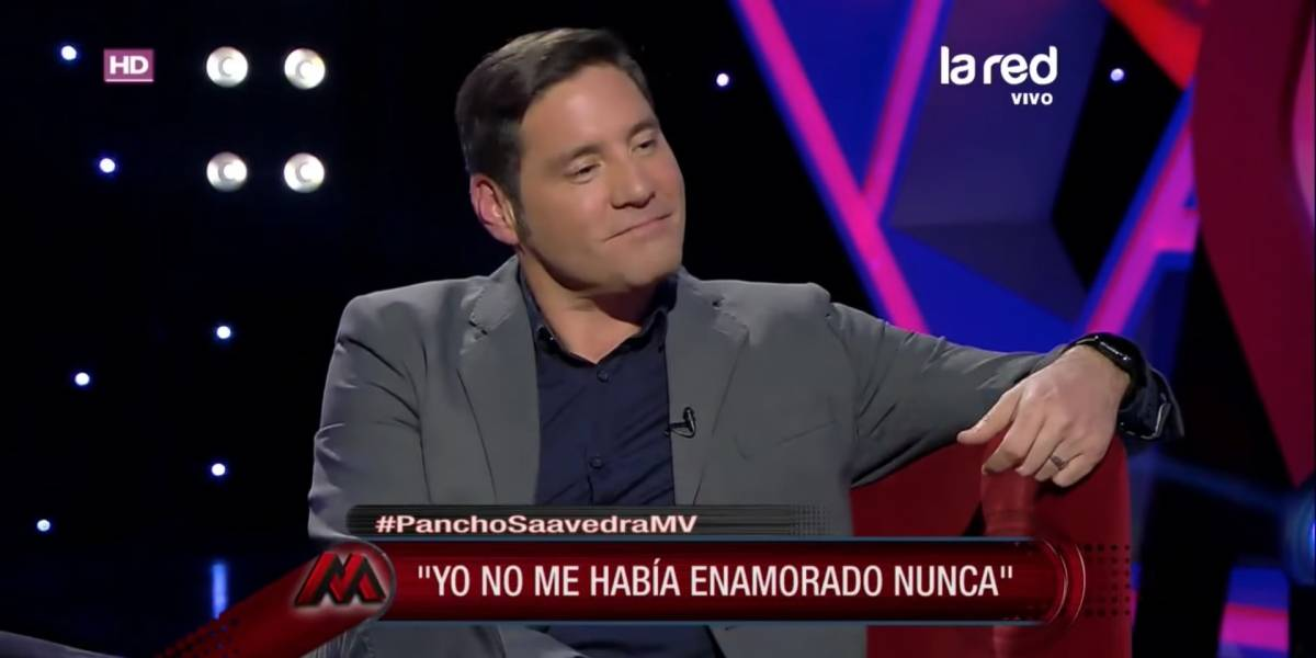"""Pancho Saavedra se confiesa: """"Estoy en una relación con alguien con quien quisiera llegar hasta que la muerte nos separe"""""""