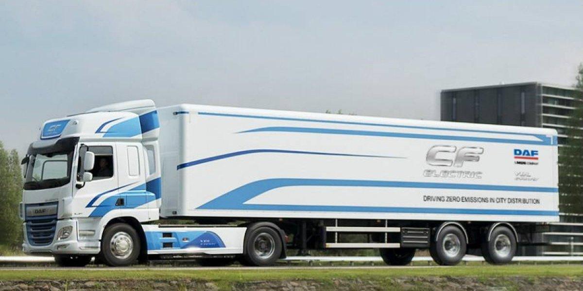 DAF desarrollará camiones totalmente eléctricos