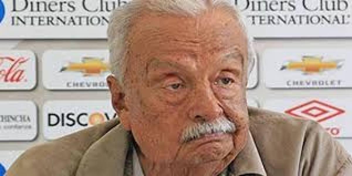 Rodrigo Paz manifiesta que hay un cambio positivo en Liga de Quito