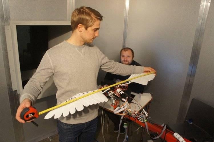Crean dron que puede volar como un ave
