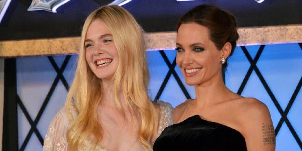 """Elle Fanning y Angelina Jolie juntas para segunda parte de """"Maléfica"""""""