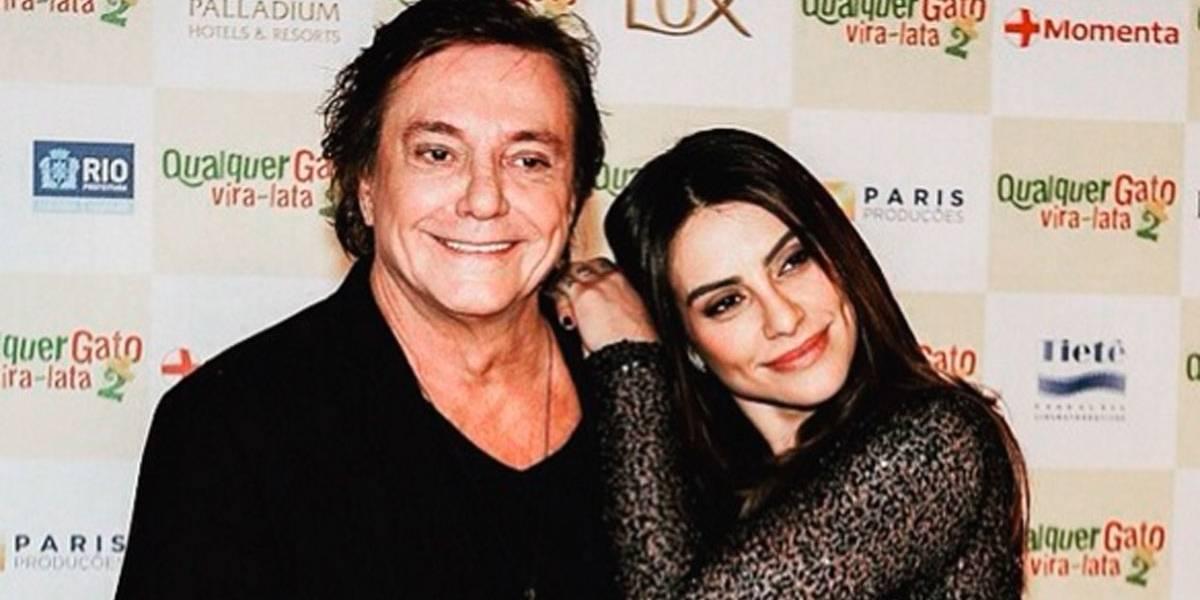 Fábio Jr. diz que incentivou carreira musical da filha Cleo