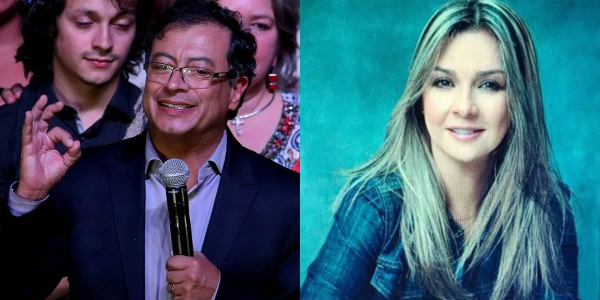 Gustavo Petro se disculpó con Vicky Dávila por no asistir al debate de W Radio