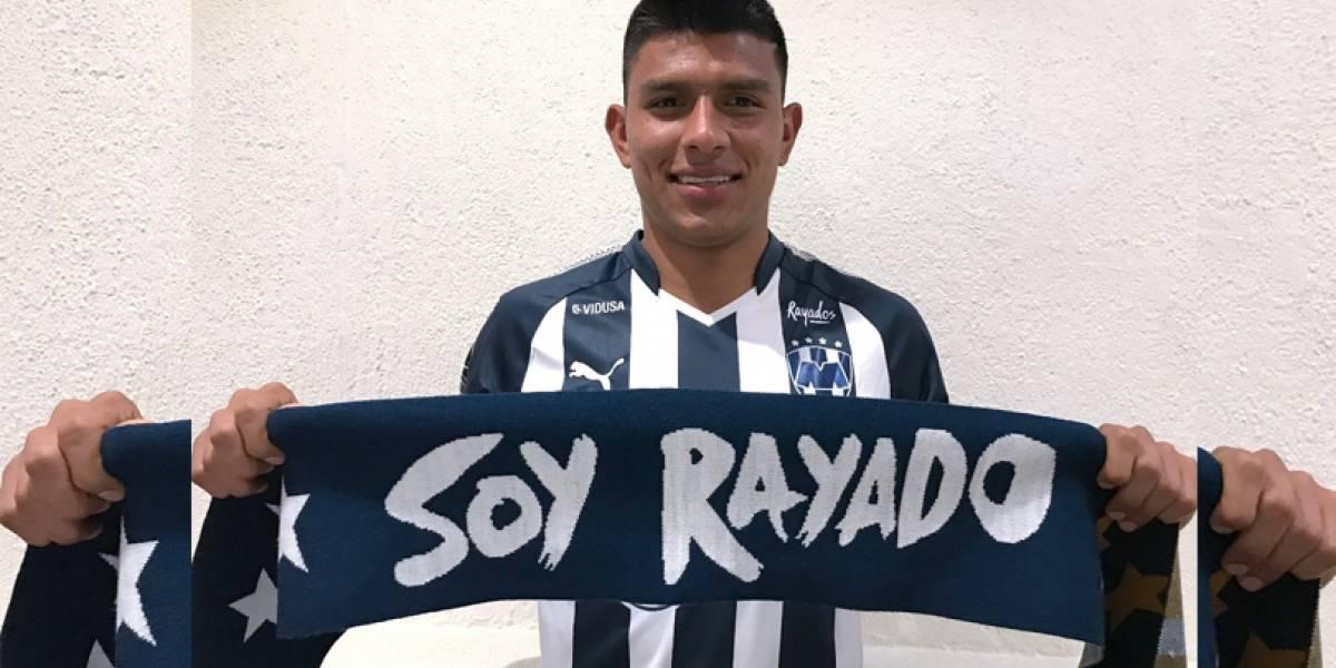 Rayados hace oficial la llegada de Jesús Gallardo