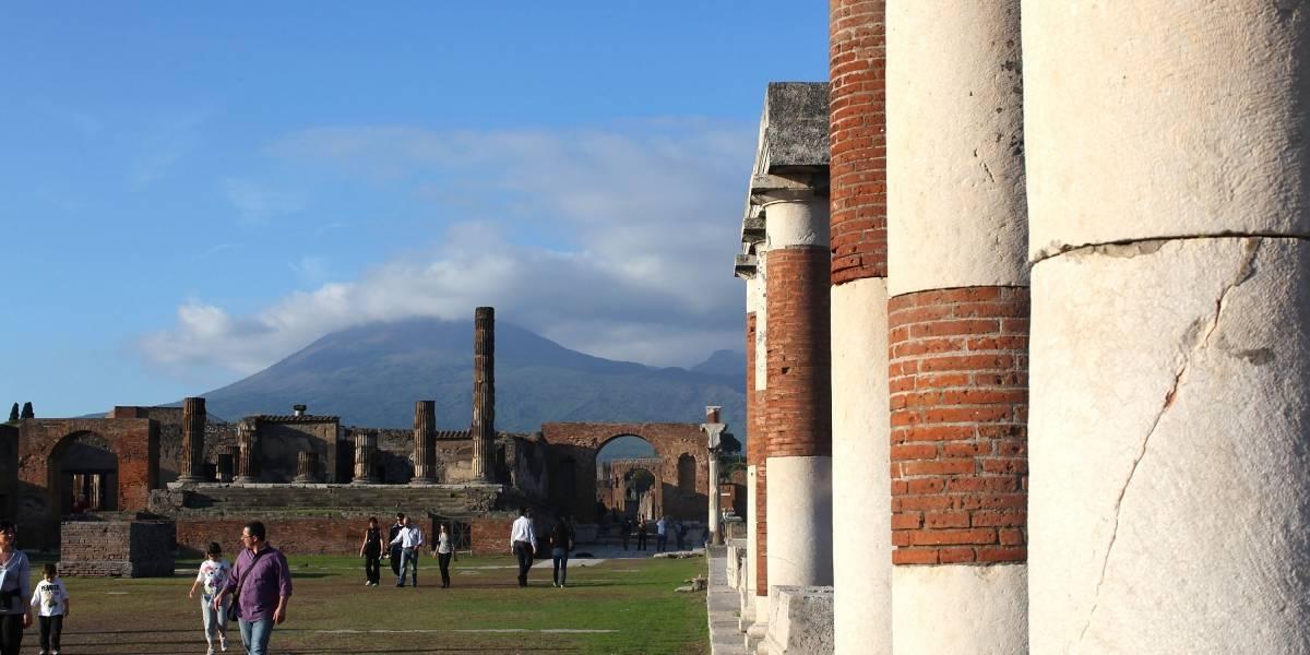 Pompeia encontra novo esqueleto de vítima do vulcão Vesúvio
