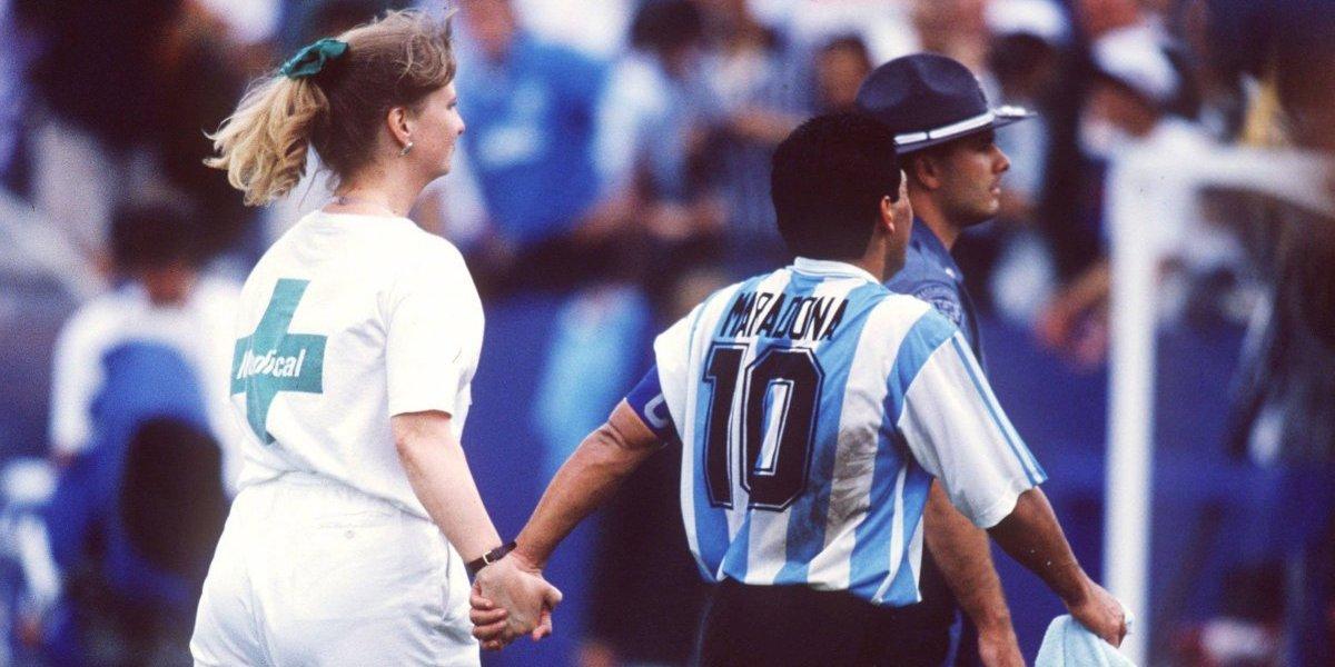 Escándalo: Havelange habría intentado ocultar sanción a Maradona en el Mundial 1994