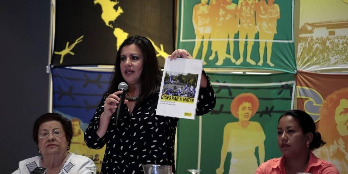 Amnistía Internacional acusa al gobierno de Ortega de represión en Nicaragua