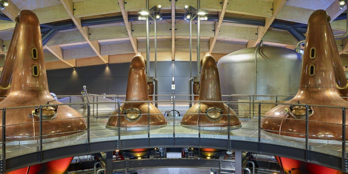 Arte y arquitectura en la nueva destilería The Macallan