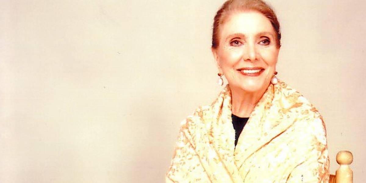 Cantora María Dolores Pradera morre aos 93 anos