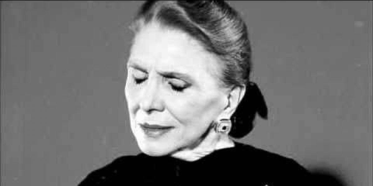 María Dolores Pradera falleció a sus 93 años