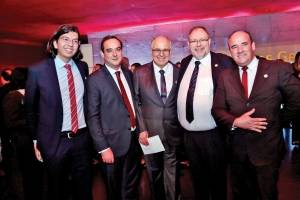 Mateus Braga, Flávio Roscoe, Teodomiro Diniz Camargos, Lothar Birkhãuser, e Daniel Menezes
