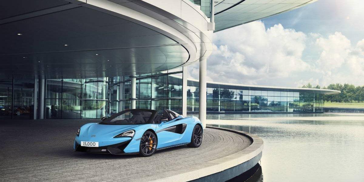 Celebra McLaren: 15 mil unidades fabricadas en el mundo en siete años