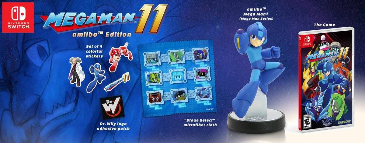 Mega Man 11 Amiibo Edition
