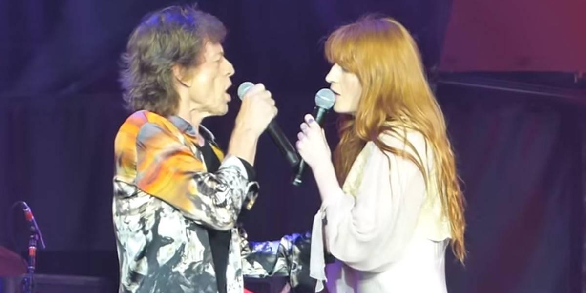 VÍDEO: Florence Welch se junta a Mick Jagger em belíssimo dueto do clássico Wild Horses