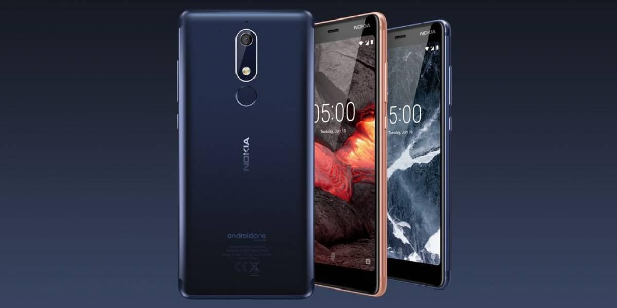 Nokia presenta tres nuevos móviles económicos con Android Go
