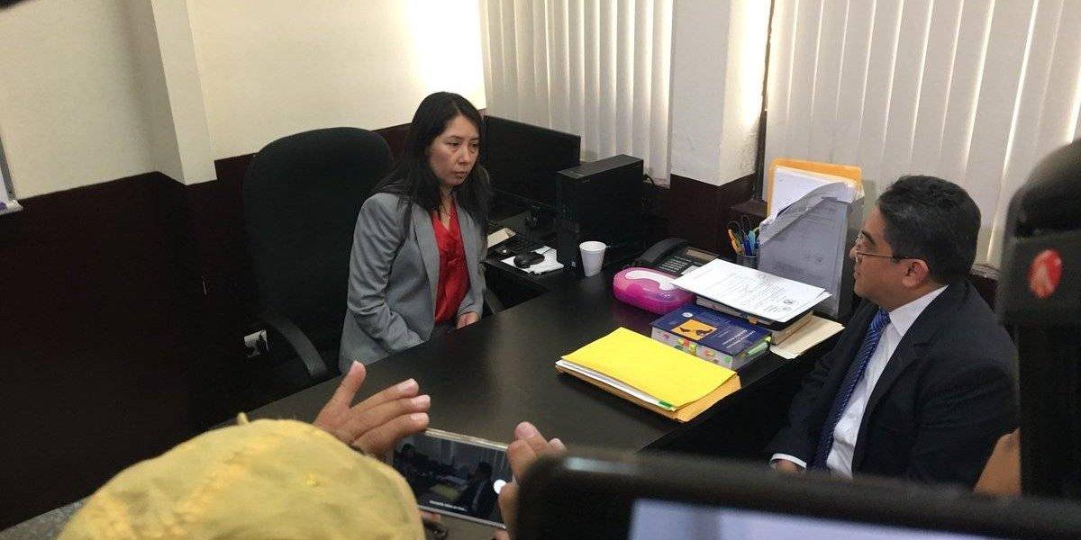 PDH se reúne con jueza Aifán, quien denuncia posible violación de su independencia judicial