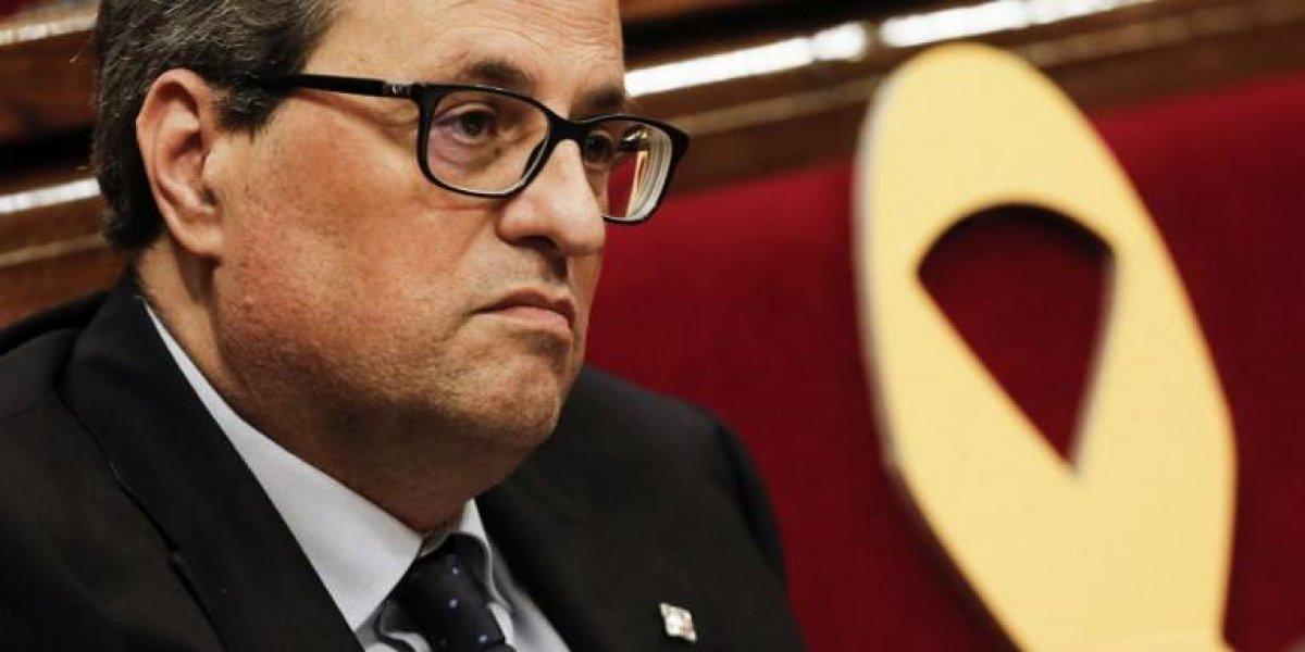 Presidente catalán forma un gobierno sin políticos presos ni exiliados