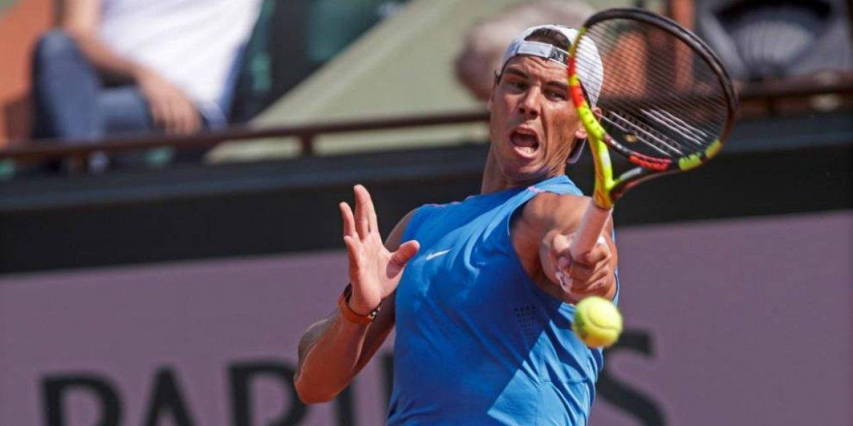 Rafael Nadal gana partido ante Simone Bolelli en el Roland Garros