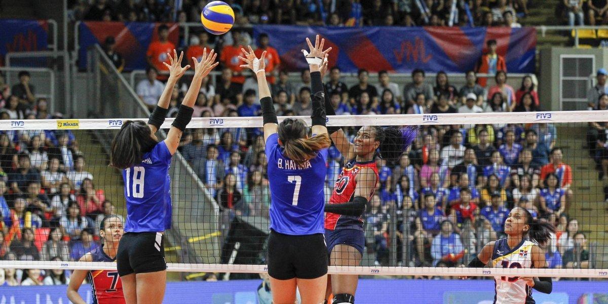 Reinas del Caribe vencen a Thailandia en la Liga de Naciones