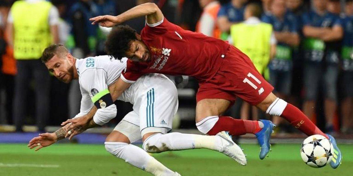 Sergio Ramos y su familia reciben amenazas por la lesión de Salah