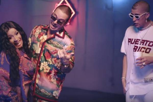Cardi B estrena video con Bad Bunny y J Balvin